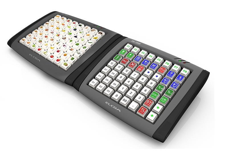 ELCOM EK-3000 D -  POS i komputery przemysłowe  -  Klawiatury POS