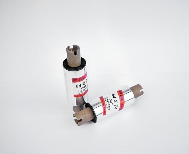Taśma termotransferowa żywiczna 64x74 - Materiały eksploatacyjne - Do drukarek etykiet
