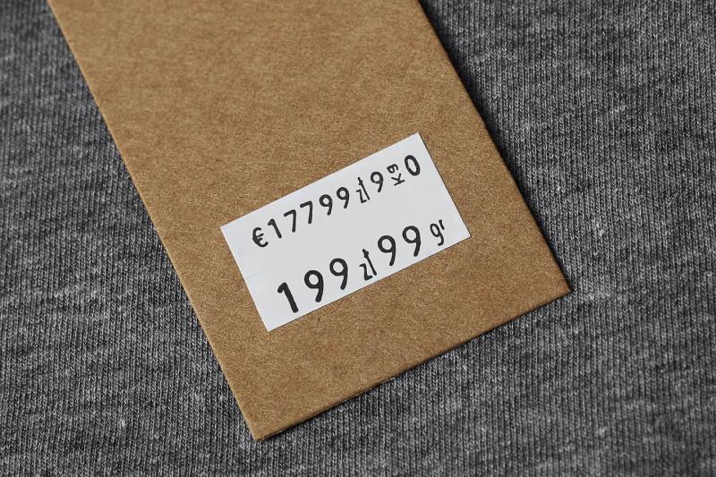 ROLKA METEK 22 X 12 MM PROSTA BIAŁA - Materiały eksploatacyjne - Do metkownic