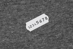BLITZ TEXTIL 2644 -  Metkownice  -  Tekstylne/numeratory