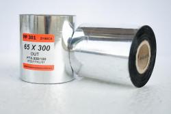 Taśma termotransferowa żywiczna 64x300 -  Materiały eksploatacyjne  -  Do drukarek etykiet