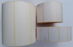Etykiety papierowe białe -  Materiały eksploatacyjne  -  Do drukarek etykiet