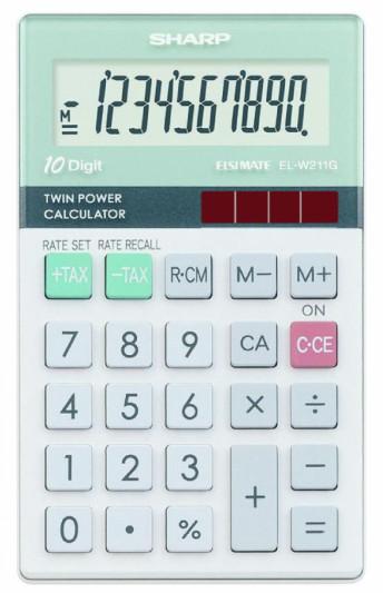 SHARP ELW211G - Kalkulatory - Kieszonkowe