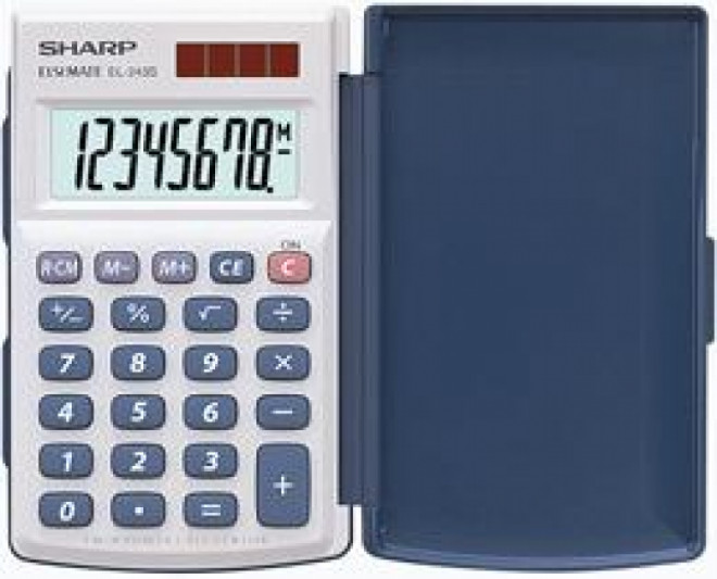 SHARP EL-243S - Kalkulatory - Kieszonkowe