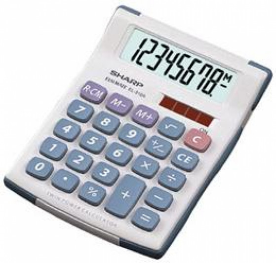 SHARP EL-310A - Kalkulatory - Biurkowe