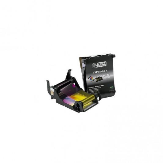 Taśma barwiąca YMCKO do ZEBRA ZXP1 - Materiały eksploatacyjne - Do drukarek kart plastikowych