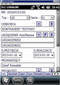 MOBILER - Zarządzanie serwisem -  Kolektory danych  -  Aplikacje kolektorowe