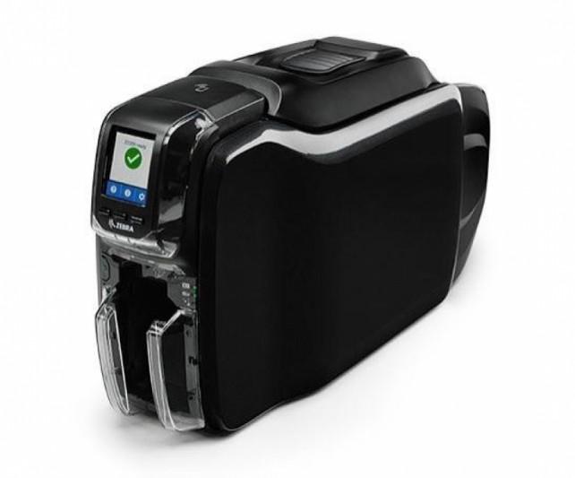 ZEBRA ZC300 - Drukarki i aplikatory etykiet - Kart plastikowych